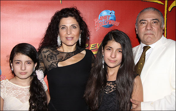 Marcela Duran, Luis Bravo and family