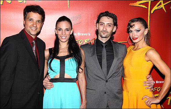 Ralph Macchio, Victoria Galoto, Juan Paulo Horvath and Karina Smirnoff