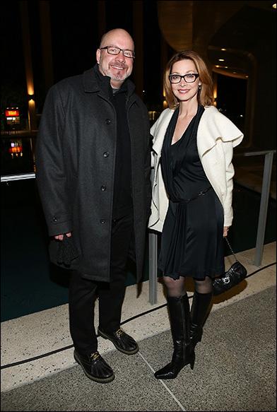 Tim Zeleny and Sharon Lawrence