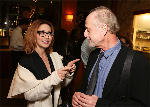 Sharon Lawrence and Mark Blum
