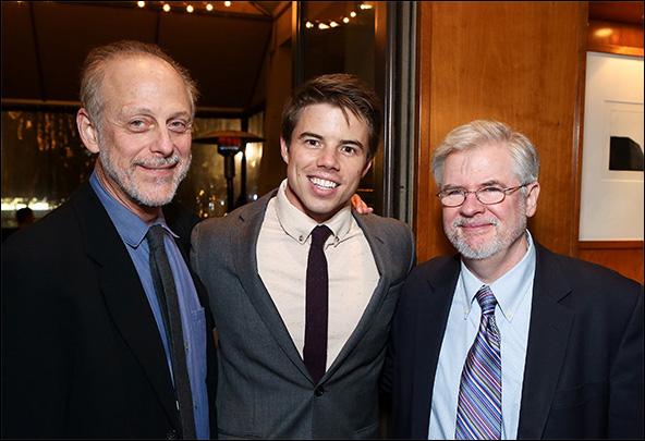 Mark Blum, David Hull and Christopher Durang