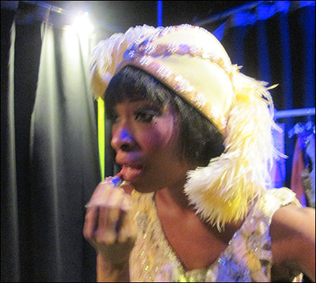 Time to make my last appearance as the Empress of Blues, Bessie Smith