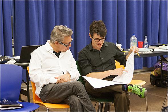 Oscar winner Elliot Goldenthal and Jonathan Mastro