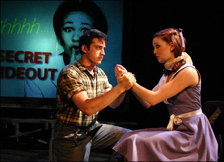 @FlyinOrion Here's @PippinMusical's own Bethany Moore and I taking a trip to Urinetown in college!