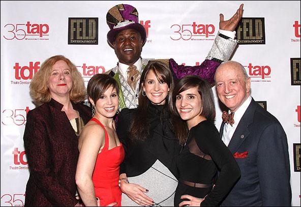 Victoria Bailey, Nicole Feld, Johnathan Lee Iverson, Alana Feld, Juliette Feld and Earl D. Weiner