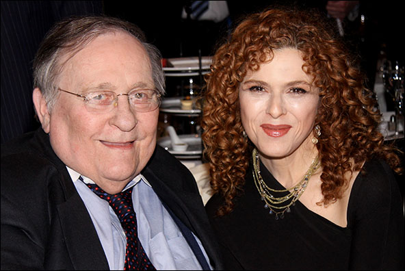 Philip J. Smith and Bernadette Peters