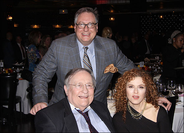 Douglas Carter Beane, Philip J. Smith and Bernadette Peters