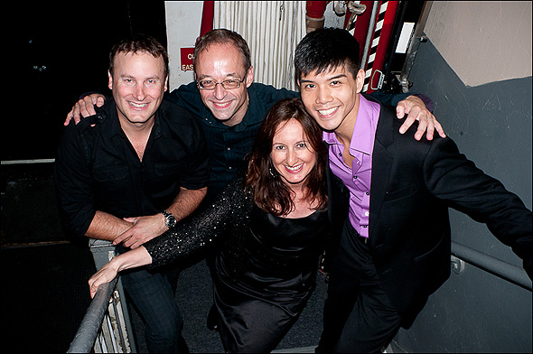 Michael Croiter, Gary Adler, Mary Ann McSweeney and Telly Leung