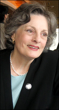 Theatre Hall of Fame inductee Dana Ivey