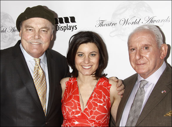 Stacy Keach, Susan Pourfar and Lionel Larner