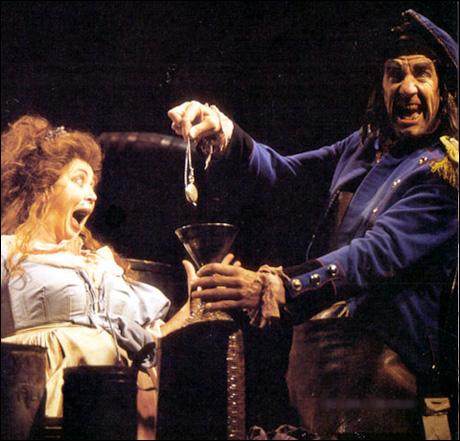 Betsy Joslyn and Nick Wyman on Broadway