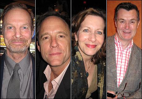 Bill Irwin, John Benjamin Hickey, Betsy Aidem and Martin Pakledinaz