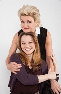Alison Fraser and Margot White