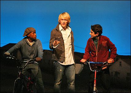Malik Hammond, Eric Nelsen and Al Calderon