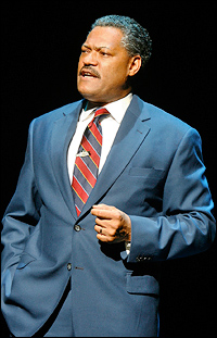 Laurence Fishburne in <i>Thurgood</i>