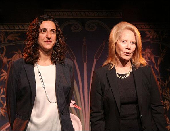 Eva Price and Daryl Roth