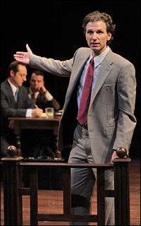 Sebastian Arcelus in the Arena Stage world premiere of <i>A Time to Kill.</i>