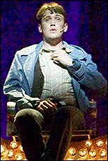 Michael Arden in <I>The Times They Are A-Changin'</I>.