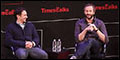 Of Mice and Men Stars James Franco and Chris O'Dowd Take Part in TimesTalks