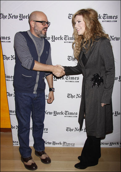 David Cross and Alison Krauss