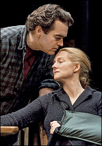 Brian d'Arcy James and Laura Linney