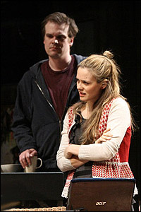 <I>Time Stands Still</I>'s David Harbour and Alicia Silverstone