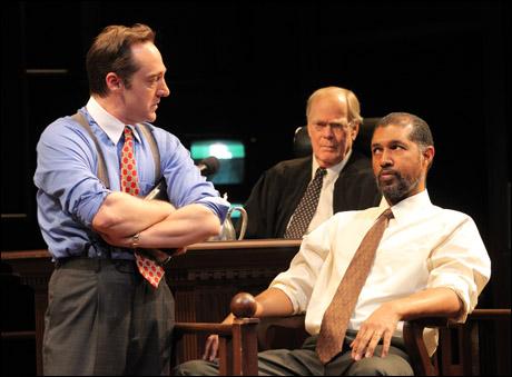 Brennan Brown, Evan Thompson and Dion Graham