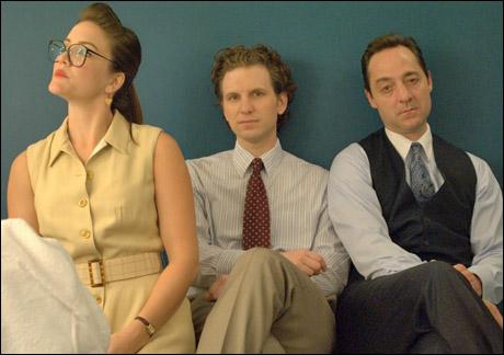 """Legal-ease""  Rosie Benton, Sebastian Arcelus and Brennan Brown"