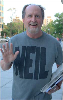 No, that's not Neil Young... it's John C. Vennema!
