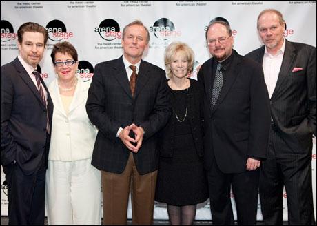 Ethan McSweeny, Molly Smith, John Grisham, Daryl Roth,  Rupert Holmes and Edgar Dobie