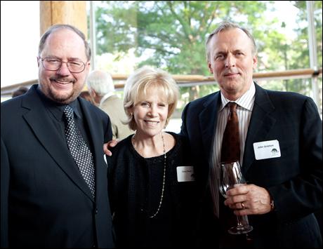 Rupert Holmes, Daryl Roth and John Grisham