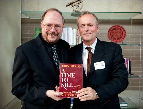 Rupert Holmes and John Grisham