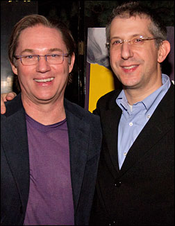 Richard Thomas and Barry Edelstein
