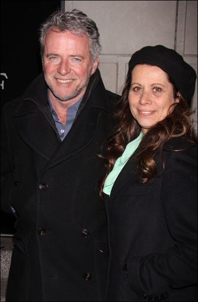 Aidan Quinn and Elizabeth Bracco