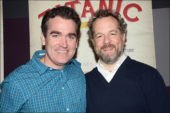 Brian d'Arcy James and David Costabile