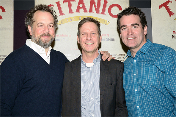 David Costabile, Martin Moran and Brian d'Arcy James