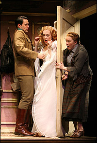 Steve Kazee, Jan Maxwell and Kristine Nielsen