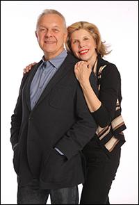 Walter Bobbie and Christine Baranski