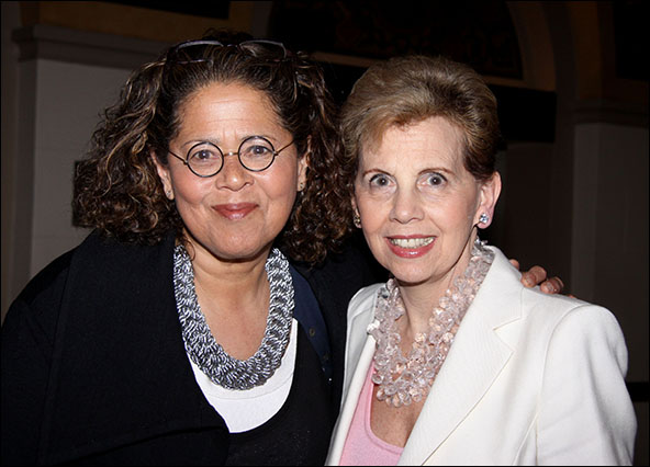 Anna Deavere Smith and Adrienne Arsht