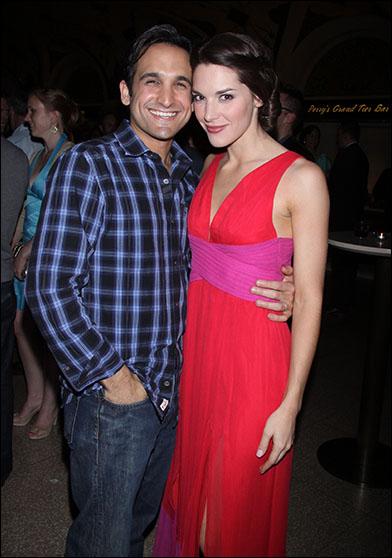 Jeremy Cohen and Kelli Barrett