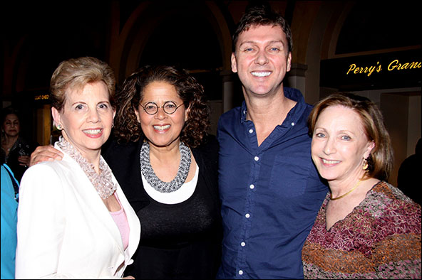 Adrienne Arsht, Anna Deavere Smith, Warren Carlyle and Arlene Shuler