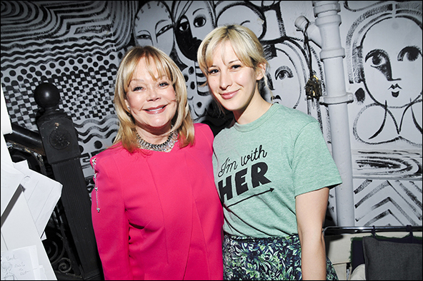 Candy Spelling and Rachel Antonoff