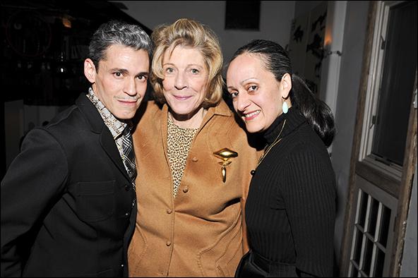 Ruben Toledo, Agnes Gund and Isabel Toledo