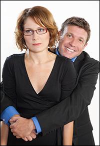 Jonathan Van Dyke and Gabrielle Mirabella