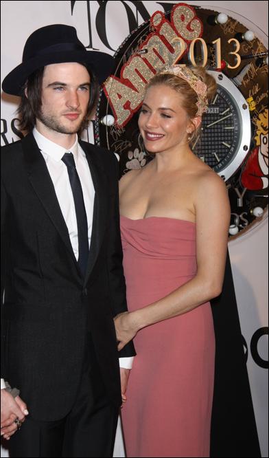 Tom Sturridge and Sienna Miller
