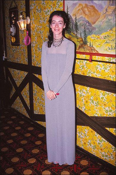 Jane Adams on her way to the 1994 Tony Awards press room.