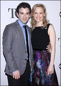 Jarrod Spector and Anika Larsen