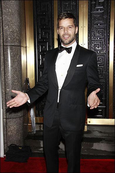 Ricky Martin at the 2010 Tony Awards