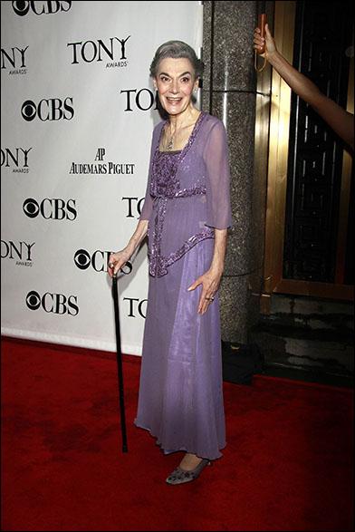 Marian Seldes at the 2010 Tony Awards