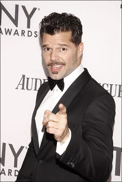 Ricky Martin at the 2012 Tony Awards